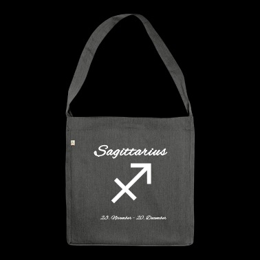 Sagittarius - Shoulder Bag made from recycled material
