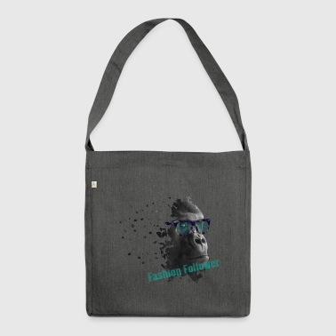 Gorilla fashion - Shoulder Bag made from recycled material
