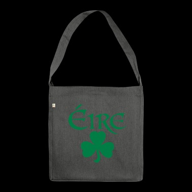 Eire Shamrock Ireland logo - Shoulder Bag made from recycled material