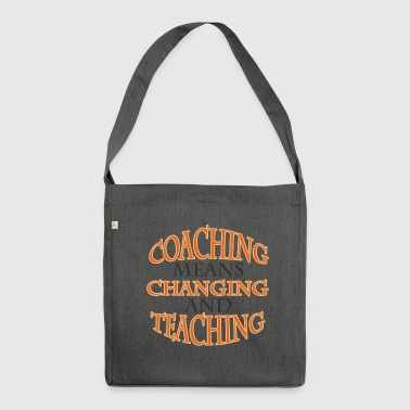 Coach / Coach: Coaching Means Changing And - Shoulder Bag made from recycled material
