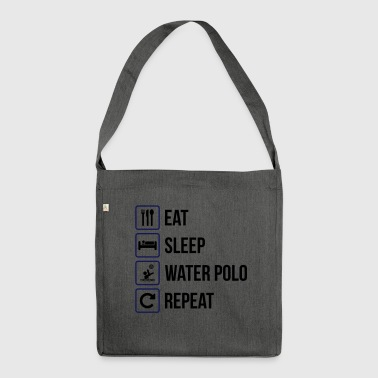 Eat Sleep Water Polo Repeat - Shoulder Bag made from recycled material