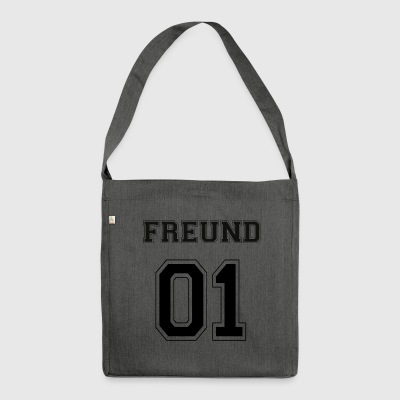 Friend - Black Edition - Shoulder Bag made from recycled material
