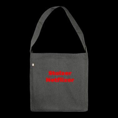 Proud Netflixer - Shoulder Bag made from recycled material