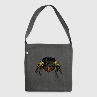 Pinguin - Schultertasche aus Recycling-Material