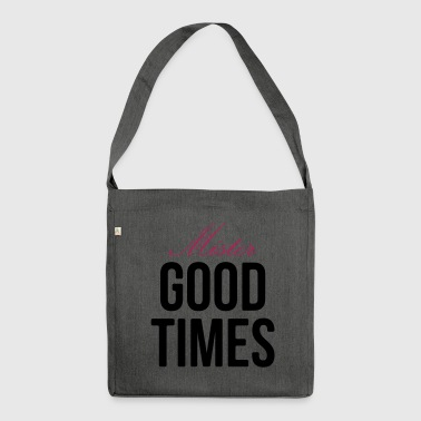 Mister Good Times - Schultertasche aus Recycling-Material