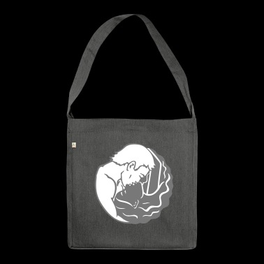 yin yang / yin yang - Shoulder Bag made from recycled material