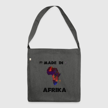 AFRICA AFRICA AFRICAN CONTINENT SAFARI GIFT - Shoulder Bag made from recycled material