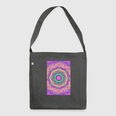 Mistyc Auge - Schultertasche aus Recycling-Material