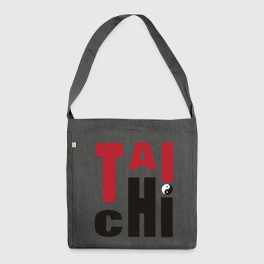 Tai Chi Chuan T'ai Chi Ch'uan Taiji - Shoulder Bag made from recycled material