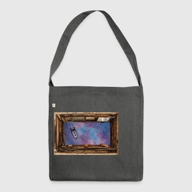 Window on 'universe - Shoulder Bag made from recycled material