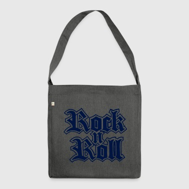 Rock n Roll - Schultertasche aus Recycling-Material