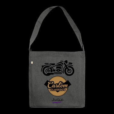 moto - Borsa in materiale riciclato