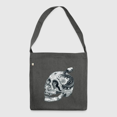 scull - Schultertasche aus Recycling-Material