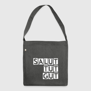 SALUT TUT GUT - Shoulder Bag made from recycled material