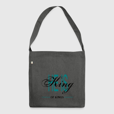 HE IS KING OF KINGS - Schultertasche aus Recycling-Material