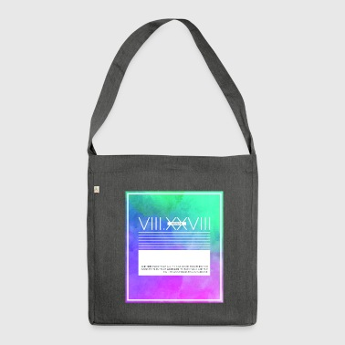 Romans Verse 8:28 - Shoulder Bag made from recycled material
