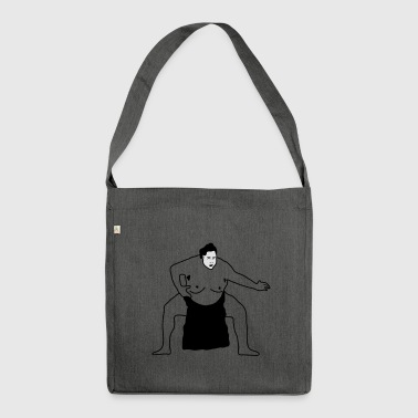 Sumo | Sumoringer | Rings Wrestler | martial Arts - Shoulder Bag made from recycled material