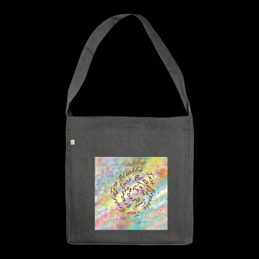 Just Breathe - Borsa in materiale riciclato