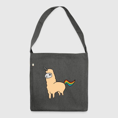 alpaca Unicorn - Borsa in materiale riciclato