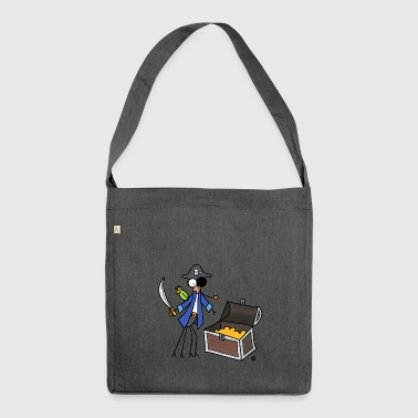 Djenne Pirate - Shoulder Bag made from recycled material