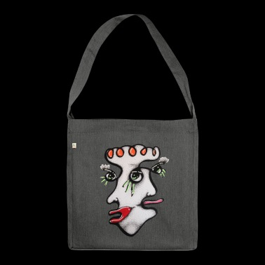 KISS US - Borsa in materiale riciclato
