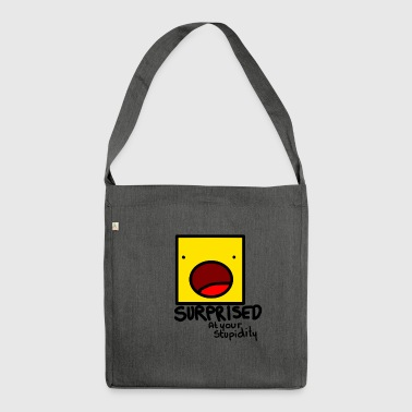 Surprised - Shoulder Bag made from recycled material