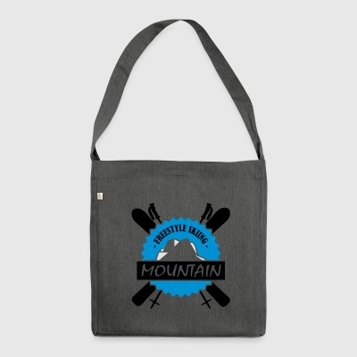 FREESTYLE SKIING - Shoulder Bag made from recycled material