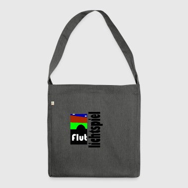 Floodlit match - Shoulder Bag made from recycled material