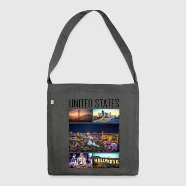 United States - United States - Shoulder Bag made from recycled material