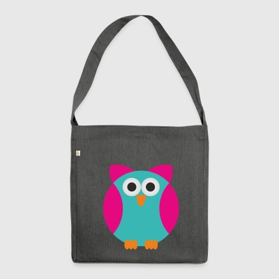 owl - Shoulder Bag made from recycled material