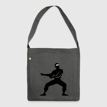 karate martial arts thai boxing ninja kickboxing49 - Shoulder Bag made from recycled material