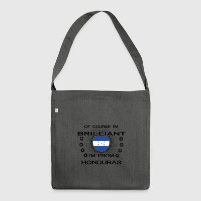 I AM GENIUS BRILLIANT CLEVER HONDURAS - Shoulder Bag made from recycled material