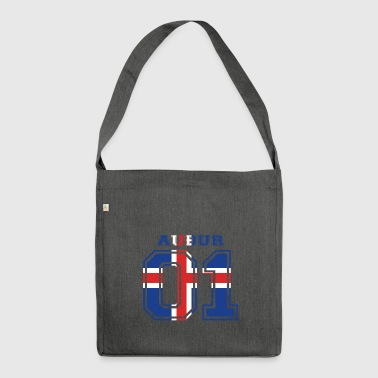 home wurzeln name iceland island AU UR - Schultertasche aus Recycling-Material
