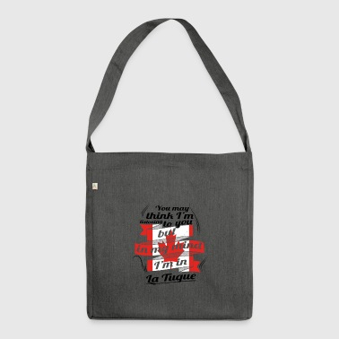 URLAUB HOME ROOTS TRAVEL Kanada Canada La Tuque - Schultertasche aus Recycling-Material