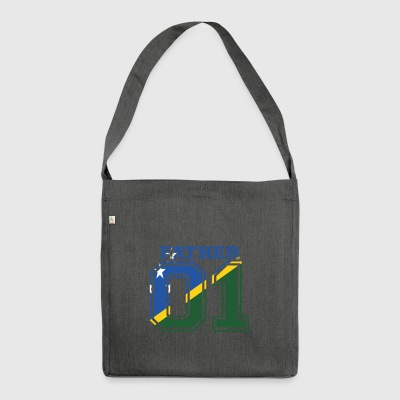 Father Father Dad 01 Queen Solomon Islands - Shoulder Bag made from recycled material