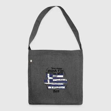 GREECE GREECE TRAVEL IN IN Greece Kos - Shoulder Bag made from recycled material