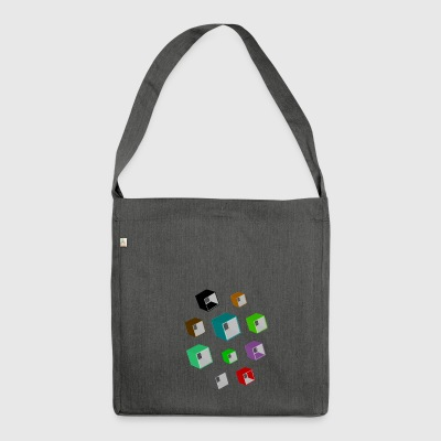 Cubes - Shoulder Bag made from recycled material