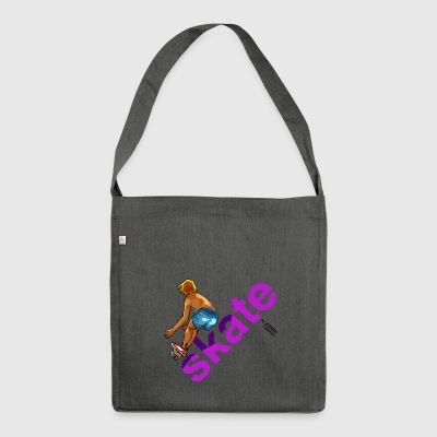skate_80 - Shoulder Bag made from recycled material