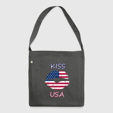 Kiss US - Shoulder Bag made from recycled material
