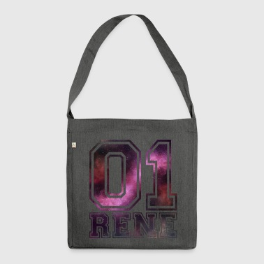 Rene Name - Schultertasche aus Recycling-Material