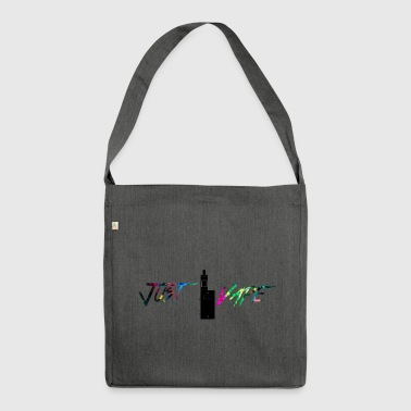 rainbow Just vape - Shoulder Bag made from recycled material