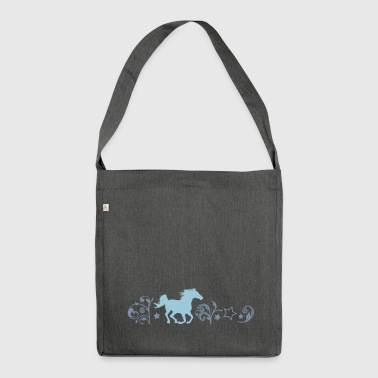 horse gallop - Shoulder Bag made from recycled material