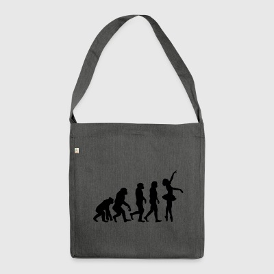 ++BALLETT EVOLUTION++ - Schultertasche aus Recycling-Material