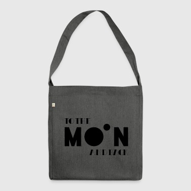 To The Moon And Back - Shoulder Bag made from recycled material