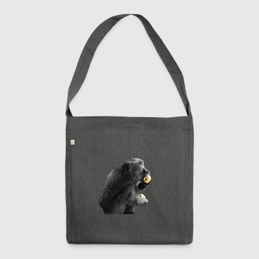 Discordian Ape - Shoulder Bag made from recycled material