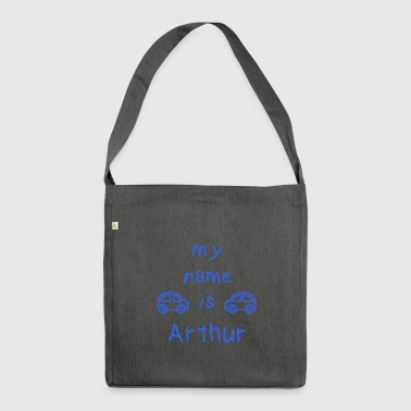 MEIN NAME IST ARTHUR - Schultertasche aus Recycling-Material