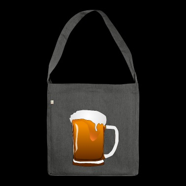 Party! - Schultertasche aus Recycling-Material