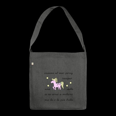 pony baby - Borsa in materiale riciclato