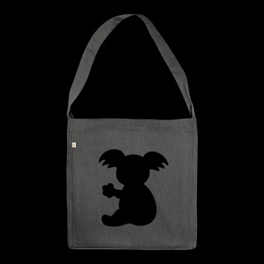 Koala bear - Shoulder Bag made from recycled material