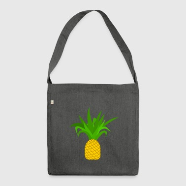 Standard Ananas - Schultertasche aus Recycling-Material